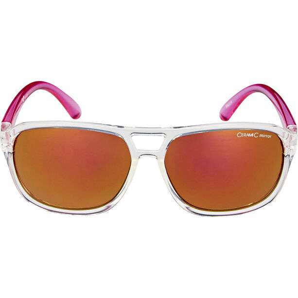 Alpina Yalla Glasses Kinder clear-pink