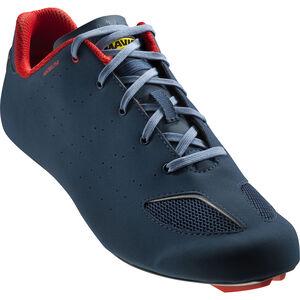 Mavic Aksium III Shoes majolica blue/fiery red/bluestone