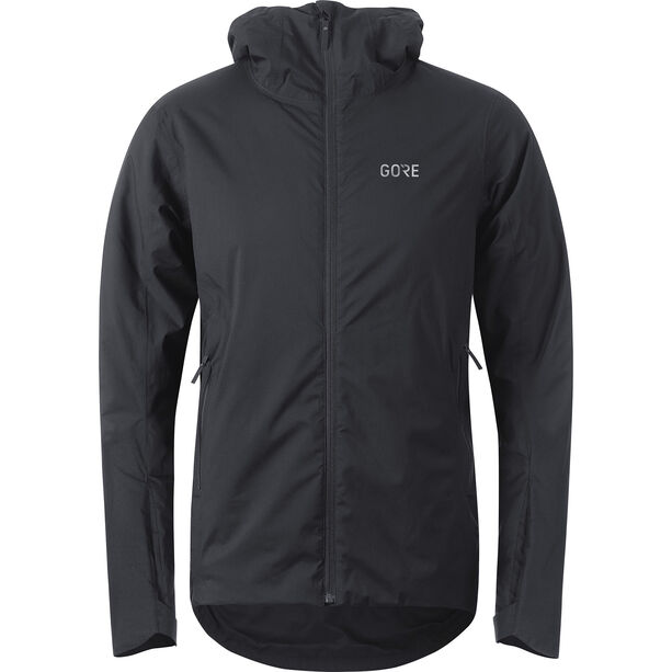 GORE WEAR C3 Thermium Hooded Jacket Herren black