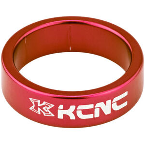 "KCNC Headset Spacer 1 1/8"" 10mm rot rot"