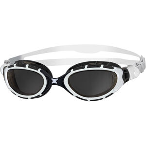 Zoggs Predator Flex Goggles white/black/smoke white/black/smoke