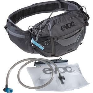 EVOC Hip Pack Pro 3l + Bladder 1,5l Black/Carbon Grey bei fahrrad.de Online