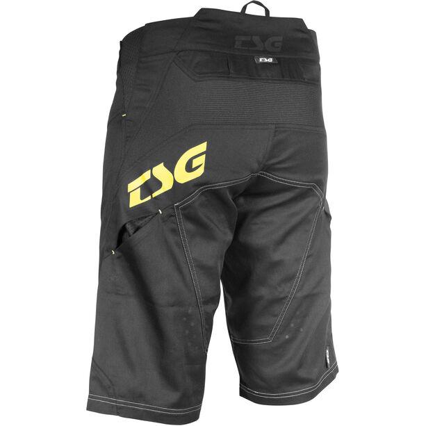 TSG AK3 Shorts Herren black-yellow