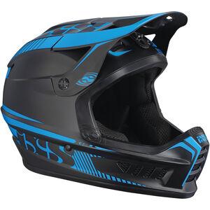 IXS Xact Fullface Helmet black/fluo blue bei fahrrad.de Online