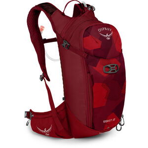 Osprey Siskin 12 Hydration Backpack Herren molten red molten red