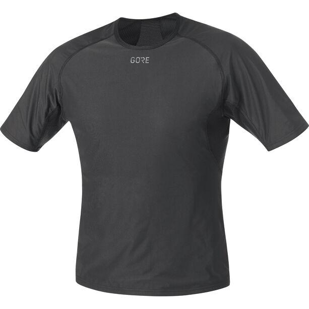 GORE WEAR M Gore Windstopper Baselayer Shirt Herren black