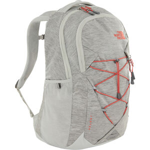The North Face Jester Backpack Damen tin grey dark heather/spiced coral tin grey dark heather/spiced coral