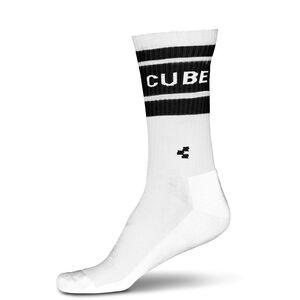 Cube After Race High Cut Socken white'n'black