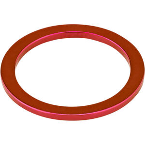 "KCNC Headset Spacer 1 1/8"" 2mm rot rot"