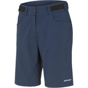 Ziener Pirka X-Function Shorts Damen antique blue antique blue