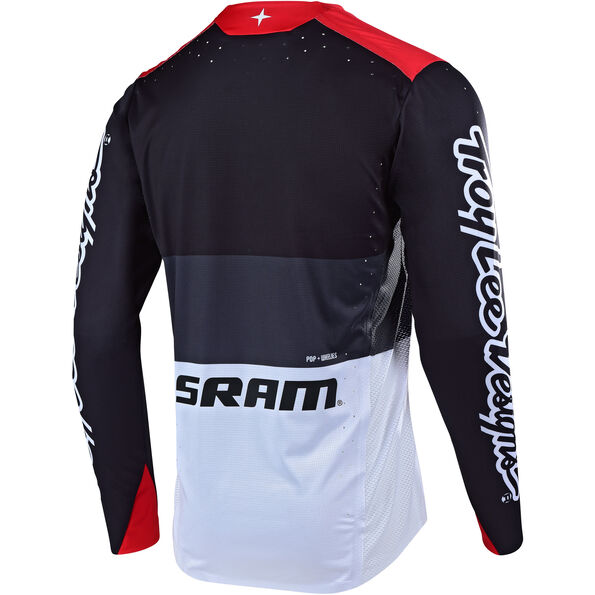 Troy Lee Designs Sprint Elite LS Jersey Herren sram beta/black/red