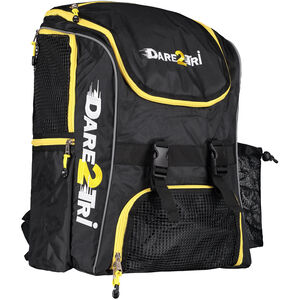 Dare2Tri Transition Backpack 33l black/yellow black/yellow