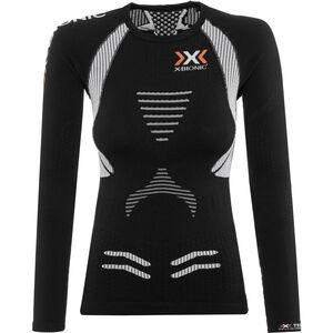X-Bionic The Trick OW LS Shirt Damen black/white black/white