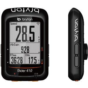 Bryton Rider 410 H HRM Fahrradcomputer schwarz schwarz
