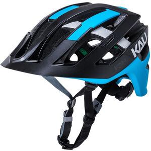 Kali Interceptor Helm matt schwarz/blau