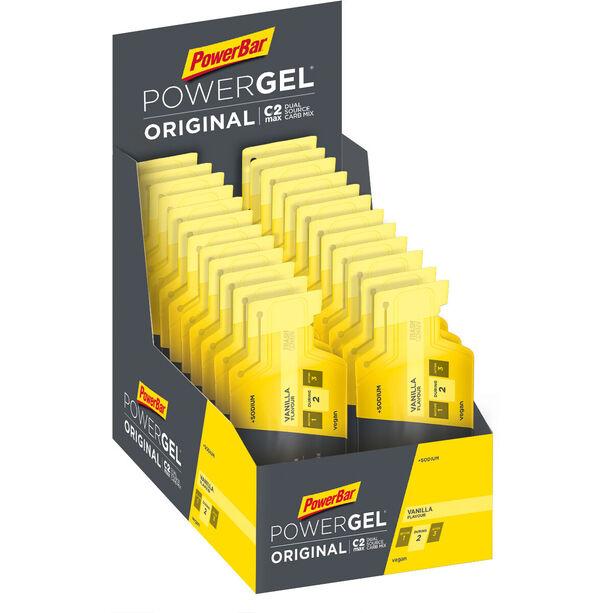 PowerBar PowerGel Original Box 24x41g Vanille