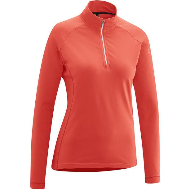 Gonso Antje Active Langarmshirt Damen fiery coral