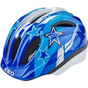 KED Meggy Helmet Kinder blue stars blue stars