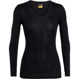 Icebreaker 175 Everyday LS Scoop Shirt Damen black black