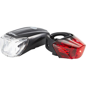 Red Cycling Products Power LED USB Beleuchtungsset schwarz