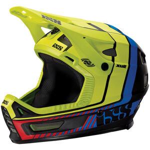 IXS Xult Fullface Helmet black/blue/lime bei fahrrad.de Online