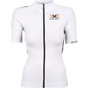X-Bionic The Trick Biking Shirt SS Full Zip Women White/Black bei fahrrad.de Online