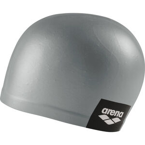 arena Logo Moulded Swimming Cap grey grey