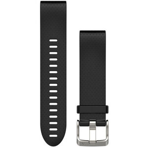 Garmin fenix 5S Silikonarmband QuickFit 20mm black