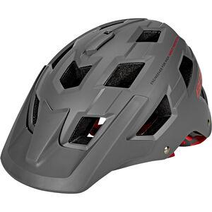 BBB Nanga BHE-54 Helm matt grau/rot matt grau/rot
