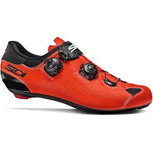 Sidi Genius 10 Schuhe Herren black/red fluo black/red fluo