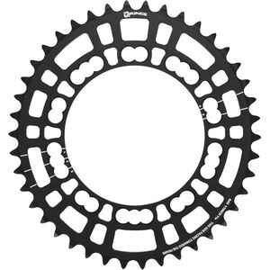 Rotor Q-Ring Road Kettenblatt 110mm 5-Arm innen schwarz schwarz