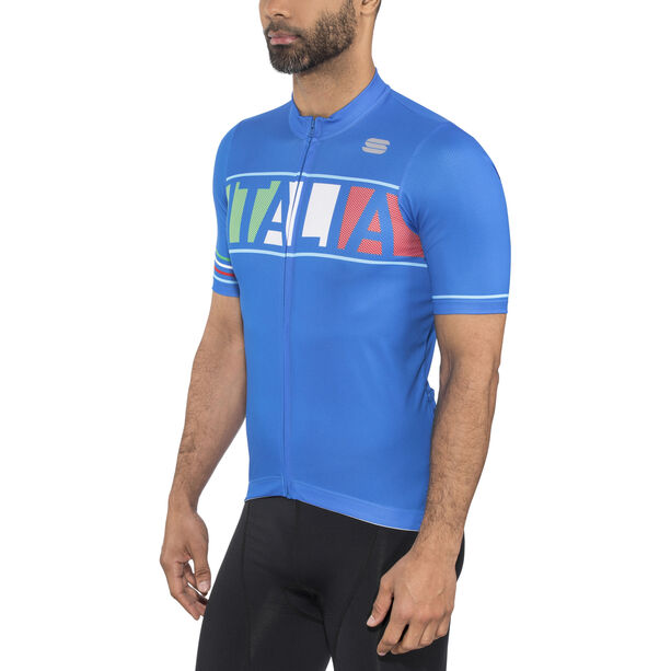 Sportful Italia Jersey Herren electric blue