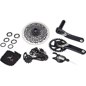 SRAM X01 Eagle Gruppe 1x12s Boost GXP schwarz bei fahrrad.de Online