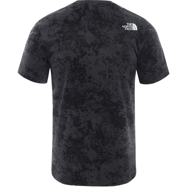 The North Face Reaxion Easy T-Shirt Herren asphalt grey grunge print