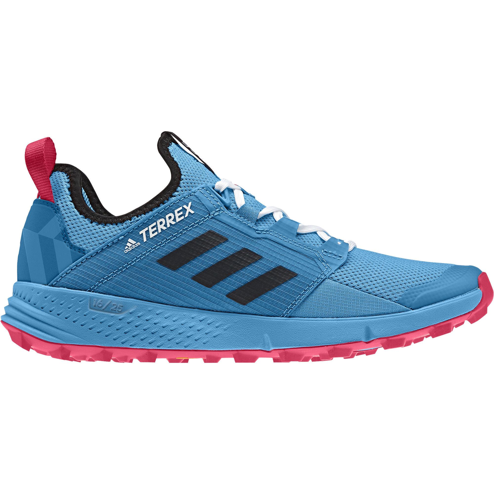 adidas TERREX Agravic Speed+ Shoes Damen shock cyancore blackactive pink