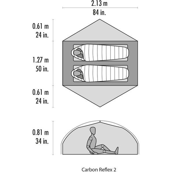MSR Carbon Reflex 2 V5 Tent