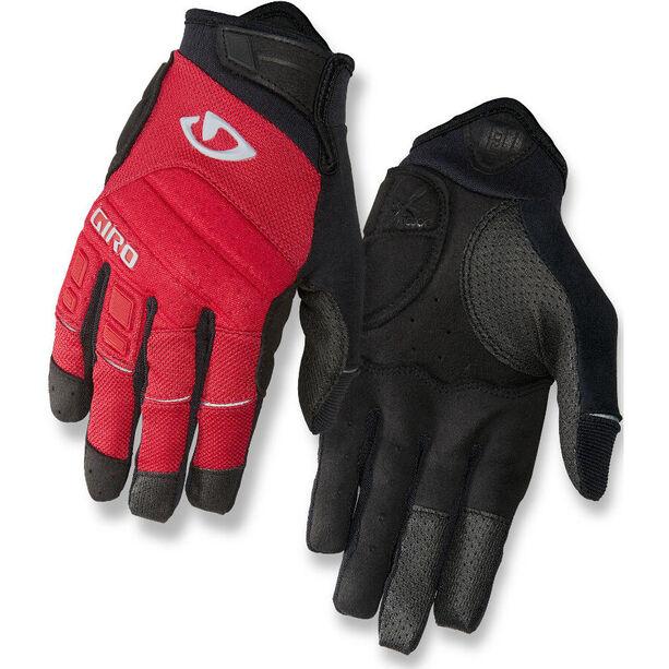 Giro Xen Handschuhe Herren dark red/black/gray