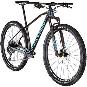 Mondraker Chrono Carbon R Carbon/Light Blue/Flame Red bei fahrrad.de Online