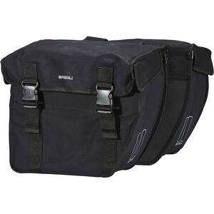 Basil Kavan Rounded Doppel-Gepäckträgertasche schwarz schwarz
