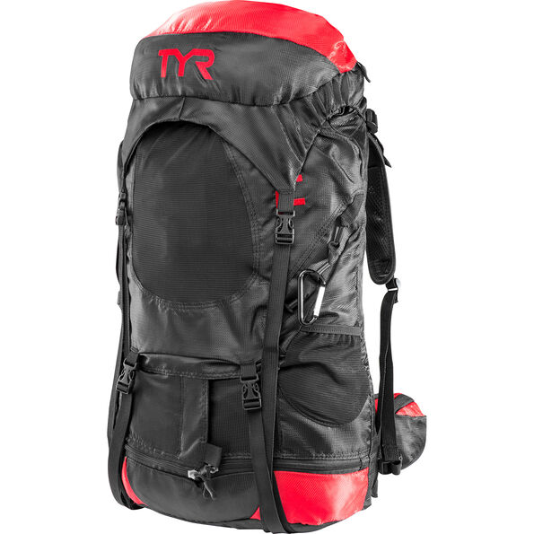 TYR Elite Transition Backpack black/red