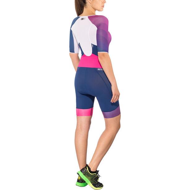 Z3R0D Racer Time Trial Trisuit Damen dark blue/pink