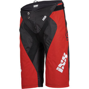 IXS Race 7.1 DH Shorts Herren fluo red/black fluo red/black