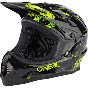 O'Neal Backflip Helm Zombie black/neon yellow