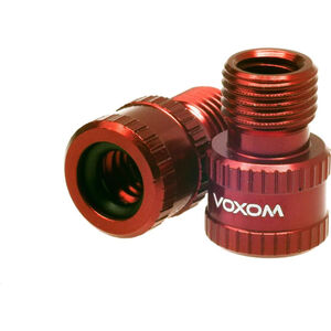 Voxom Vad 1 Presta zu Schrader Ventiladapter rot rot