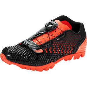 Bontrager Rhythm MTB Shoes Herren black/roarange black/roarange