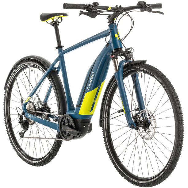 Cube Nature Hybrid EXC 500 Allroad blue/lime