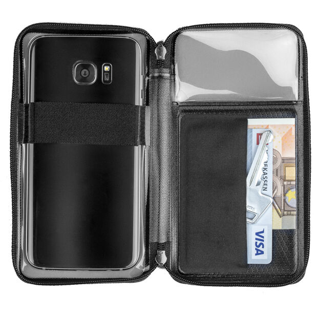 "GripGrab Cycling Wallet for Smartphones up to 5.5"" black"