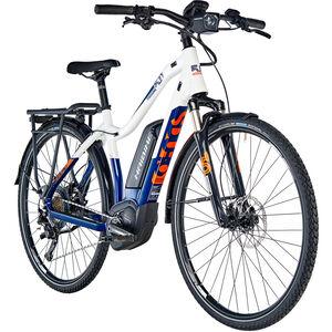 HAIBIKE SDURO Trekking 5.0 Damen blau/weiß/orange