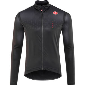 Castelli Pro Fit Light Rain Jacket Herren light black light black