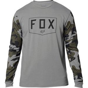 Fox Shield Langarm Tech T-Shirt Herren grey camo grey camo